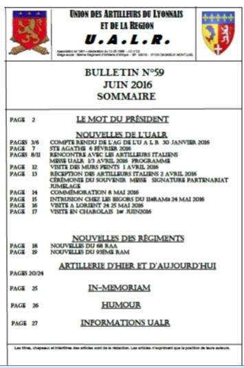 Bulletin n 59